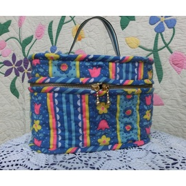 ランチボックスバッグ--ブルー