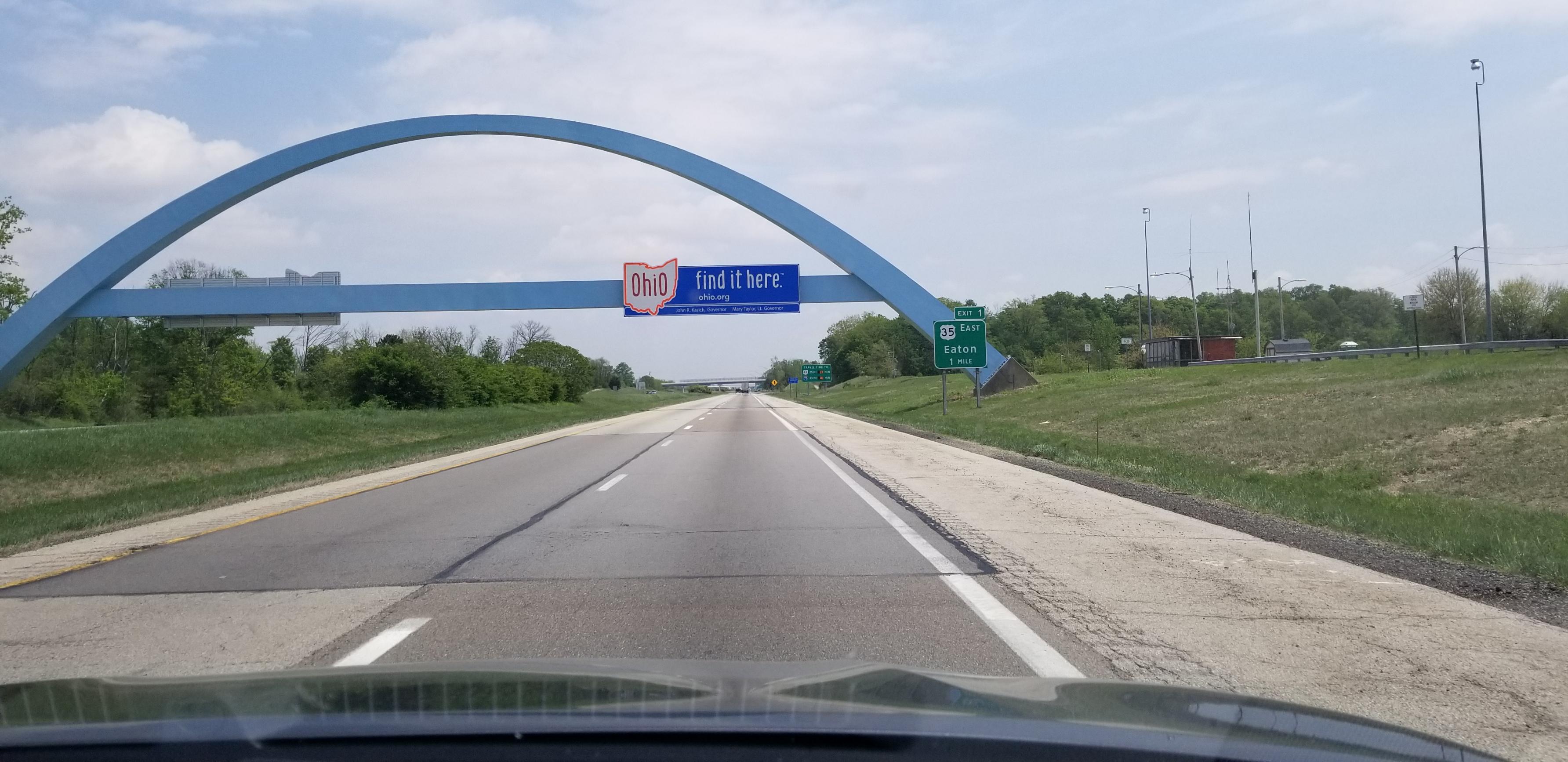オハイオへ